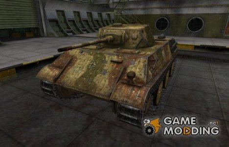 Исторический камуфляж VK 28.01 для World of Tanks