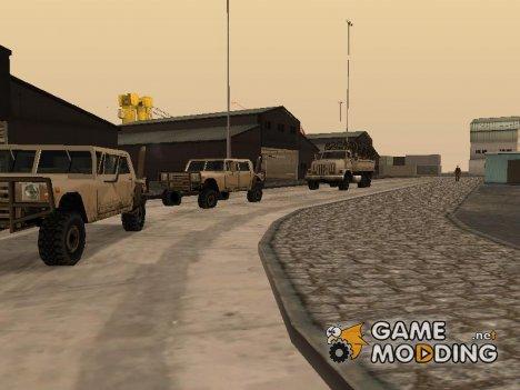 Оживление военной базы в доках v3.0 для GTA San Andreas