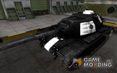 Зоны пробития M103 for World of Tanks