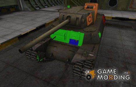 Качественный скин для T1 Heavy для World of Tanks