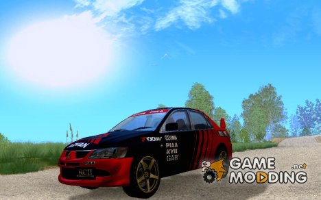 Mitsubishi Lancer Evolution VIII Advan для GTA San Andreas
