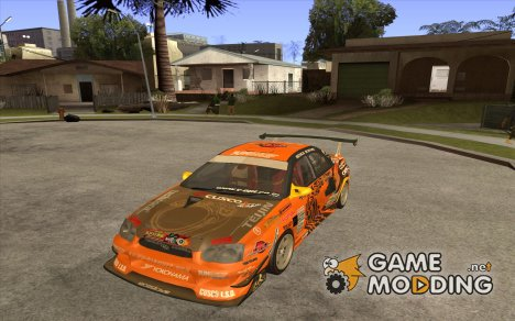 Subaru Impreza D1 WRX Yukes Team Orange for GTA San Andreas