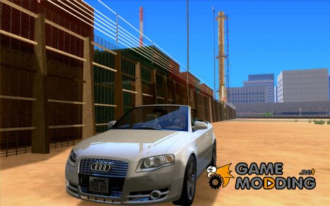 Audi A4 Convertible 2005 for GTA San Andreas