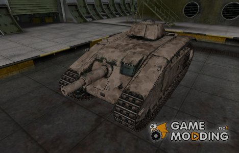 Французкий скин для ARL V39 для World of Tanks