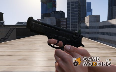 Beretta 92 Hybrid 1.1 for GTA 5