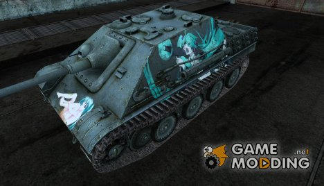 JagdPanther Мику для World of Tanks