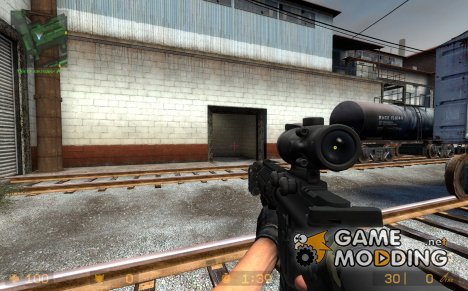 Tactical M4A1 CQB для Counter-Strike Source
