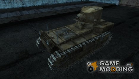 Шкурка для T1 Cunningham для World of Tanks