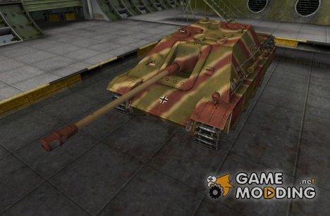 Ремоделинг со шкуркой JagdPanther for World of Tanks