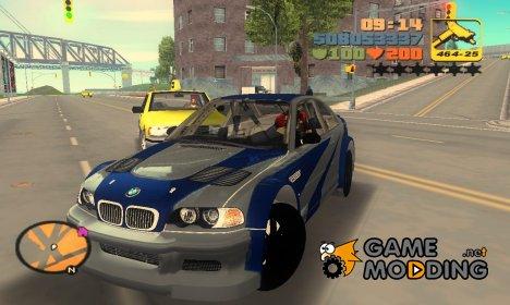 BMW M3 GTR для GTA 3