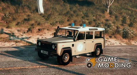 Land Rover Defender 110 Armée de Terre VIGIPIRATE for GTA 5