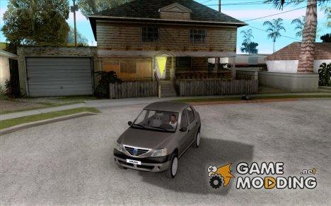 Dacia Logan 1.6 для GTA San Andreas