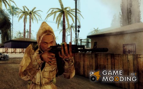 "CJ ""Сталкер"" для GTA San Andreas"