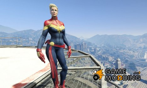 Captain Marvel (ANAD) for GTA 5