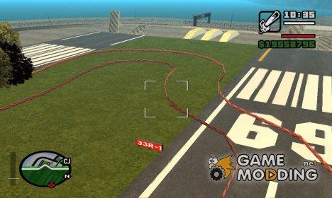 Raceday 1 - Air Raid для GTA San Andreas