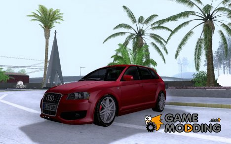 Audi S3 Sportback 2007 для GTA San Andreas