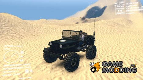 Jeep Willys Rock Crawler 702 SID for Spintires DEMO 2013