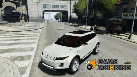 Land Rover Rang Rover LRX Concept for GTA 4