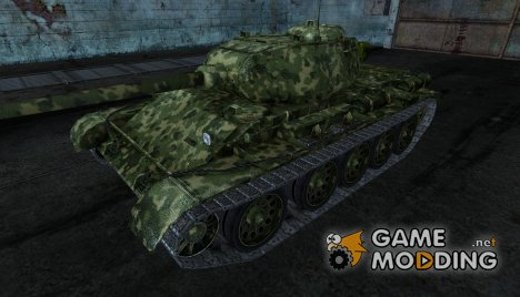 T-44 KPOXA3ABP for World of Tanks