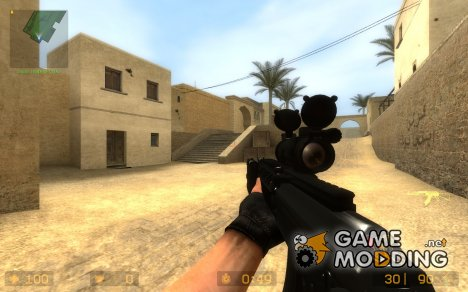 ak 47 sopmod on Kiyoshi animation для Counter-Strike Source