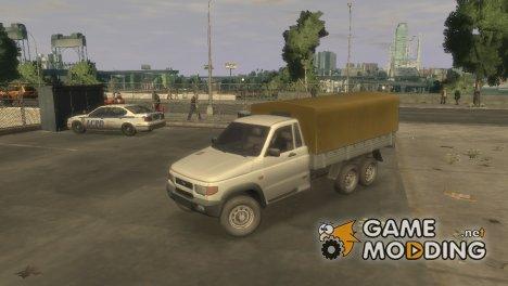 УАЗ-2360 6x6 for GTA 4