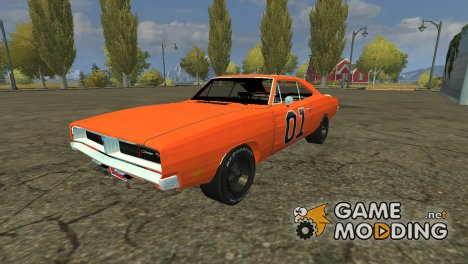 General Lee v 2.0 for Farming Simulator 2013