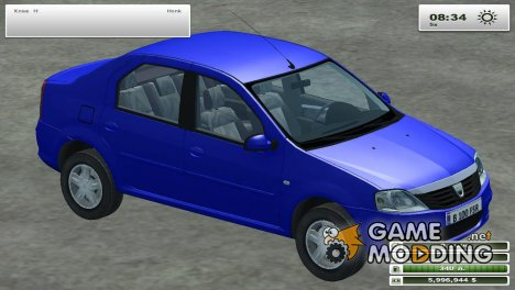 Dacia Logan for Farming Simulator 2013