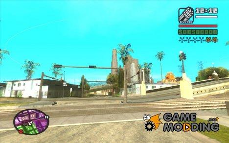 Новые звезды для худа №1 for GTA San Andreas