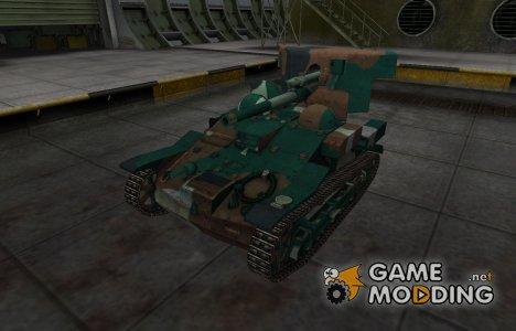 Французкий синеватый скин для Renault UE 57 for World of Tanks