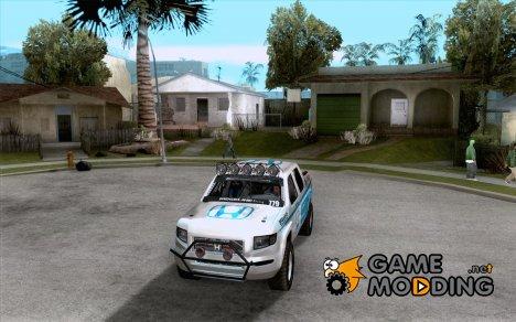Honda Ridgeline Baja White for GTA San Andreas