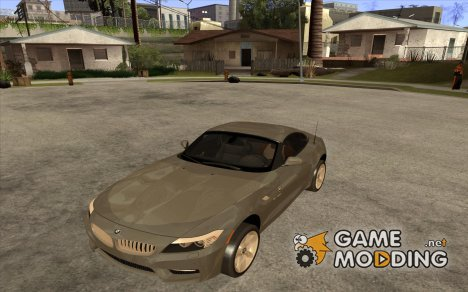 BMW Z4 sdrive35is 2011 для GTA San Andreas