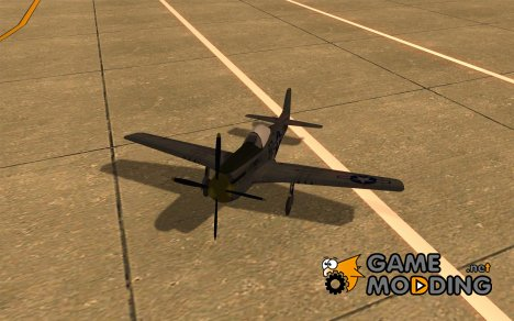 P-51 Mustang for GTA San Andreas