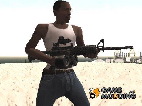 AR-15 Carabine for GTA San Andreas