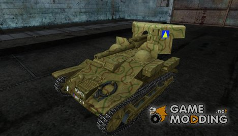 Шкурка для Renault UE 57 для World of Tanks
