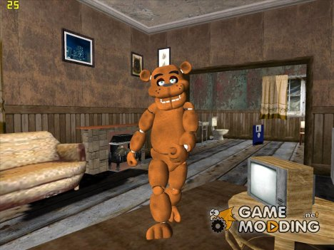 Freddy из Five Nights Att Freddy's for GTA San Andreas