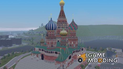 Храм Василия Блаженного для GTA 3