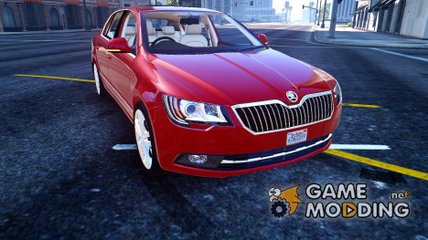 2014 Škoda Superb 1.4 for GTA 5