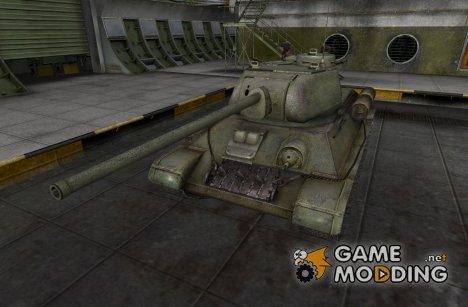 Модифированный Т-34-85 for World of Tanks