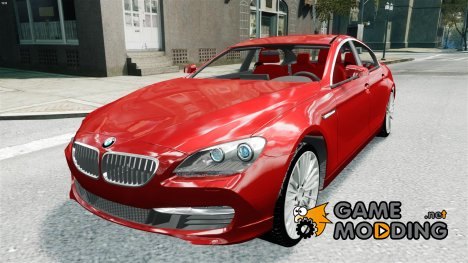 BMW 6 Series Gran Coupe 2013 [Beta] для GTA 4