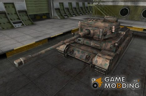 Ремоделлинг для PzKpfw VI Tiger (P) for World of Tanks