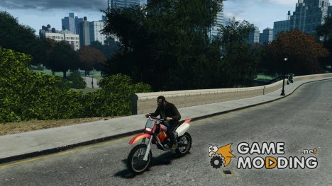 Yamaha YZFM 450 Monster Energy для GTA 4