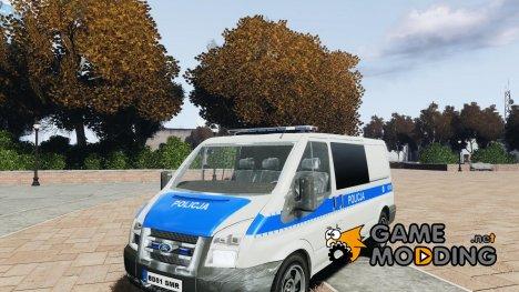 Ford Transit Polish Police для GTA 4