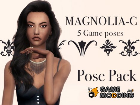 Magnolia  pose pack for Sims 4