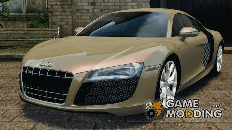 Audi R8 V10 2010 для GTA 4