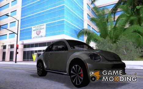 Volkswagen Beetle 2012 for GTA San Andreas
