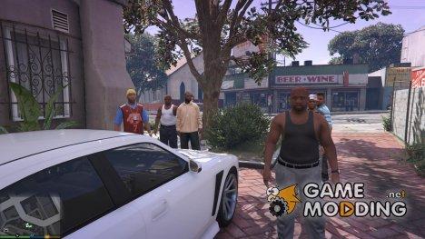 Спавн телохранителей для GTA 5
