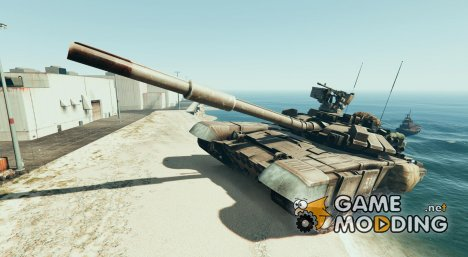 Mega Giant T90 Tank Mod 1.0 for GTA 5