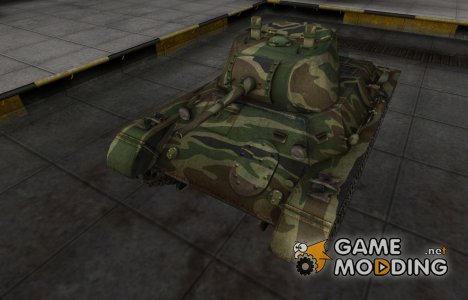 Скин для танка СССР Т-127 for World of Tanks