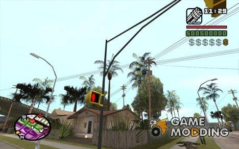 Новые звезды для худа №10 for GTA San Andreas