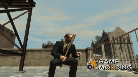 Новая бейсбольная бита for GTA 4